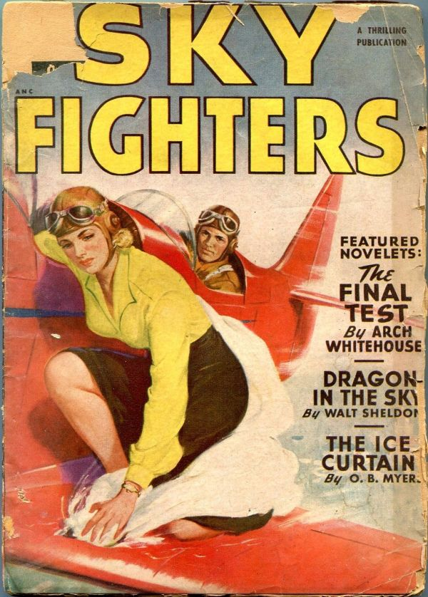 Sky Fighters Spring 1949
