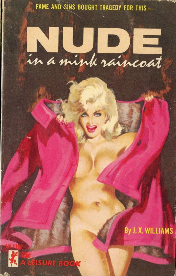 Leisure Books LB1102 - Nude In A Mink Raincoat (1965)