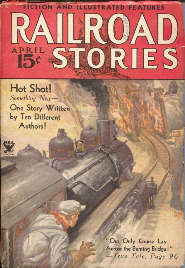 Railroad Stories April 1934
