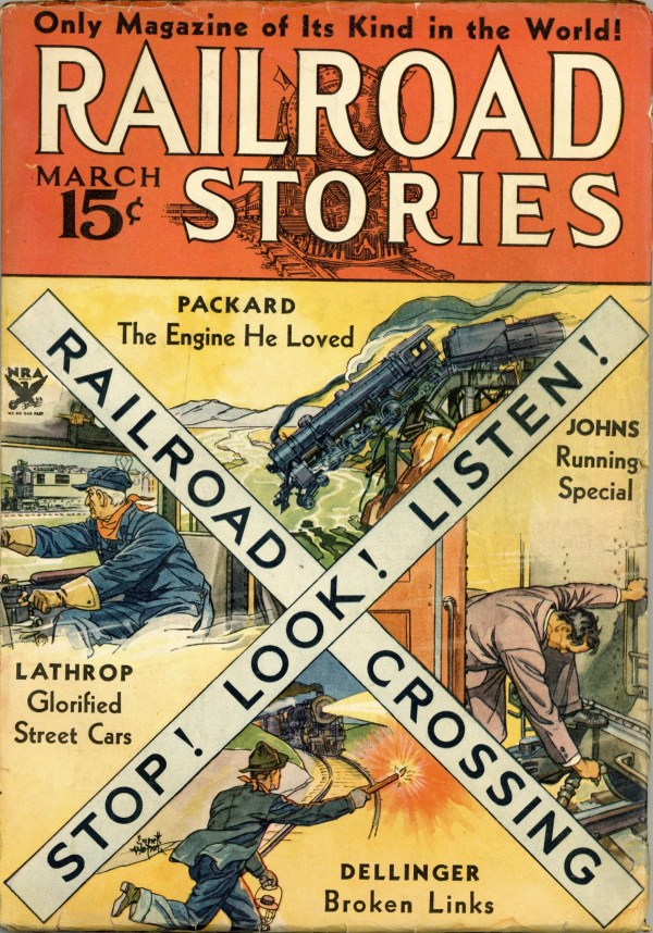 Railroad Stories March 1934