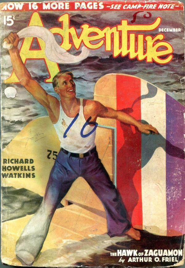 Adventure December 1936