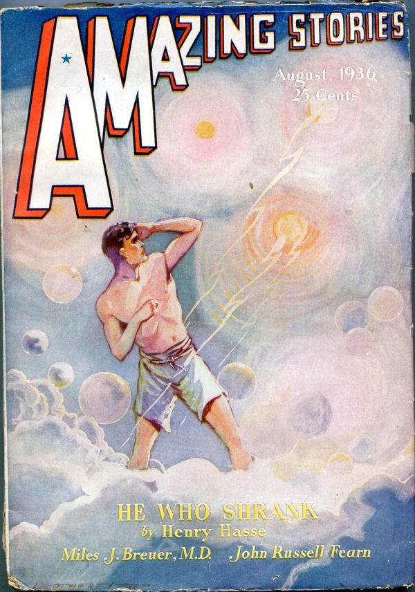 Amazing Stories August 1936