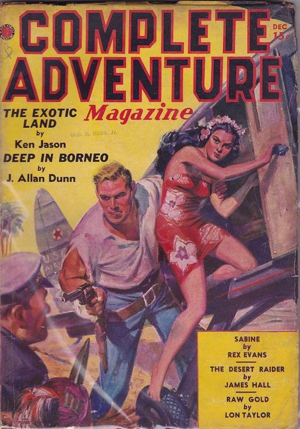Complete Adventure Magazine December 1937
