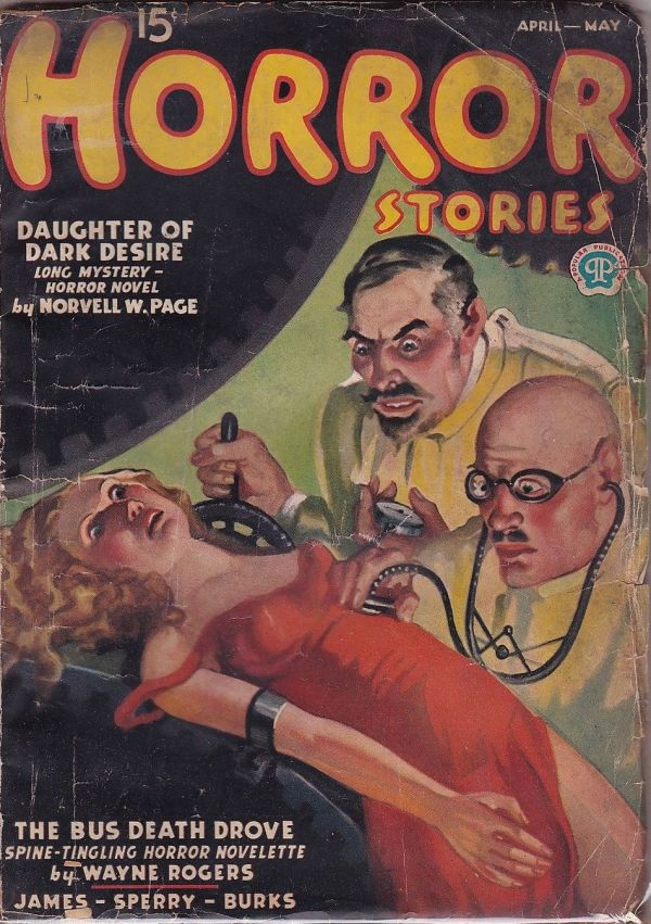 Horror Stories April-May 1937