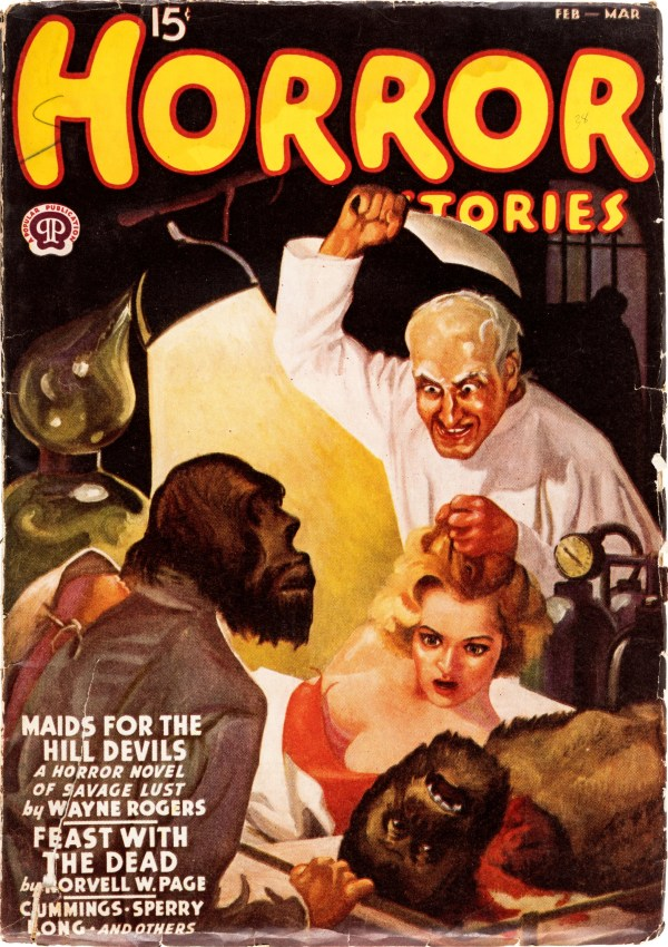 Horror Stories February-March 1938