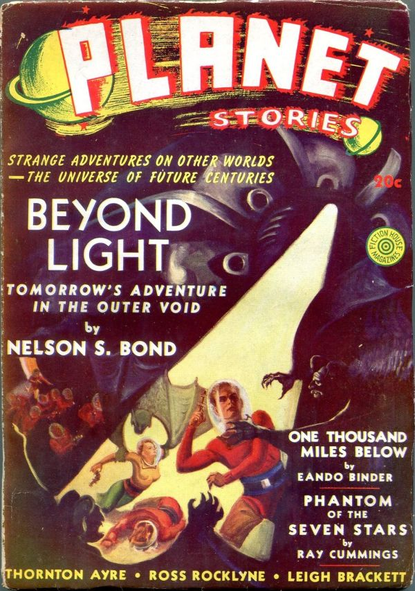Planet Stories Winter 1940