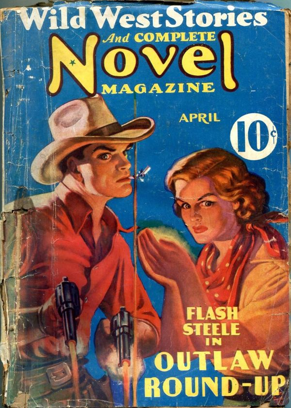 Wild West Stories And Complete Novels April 1937