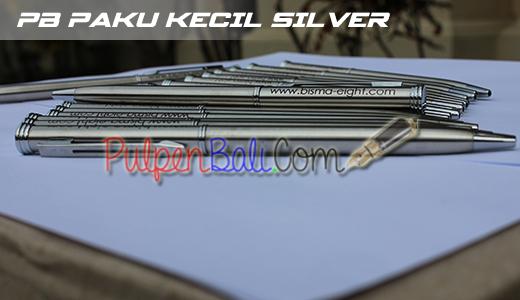 Contoh pulpen promosi bahan besi cetak pad print pesanan Bisma 8 Ubud