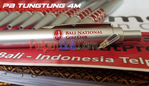 contoh pulpen pesanan Bali National Golf Club