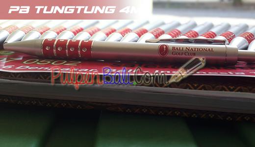 pulpen bahan plastik pesanan Bali National Golf Club Nusa Dua