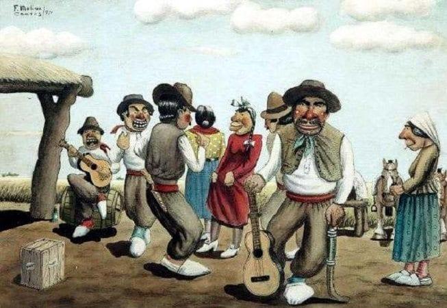 Resultado de imagen para dia del folklore argentino segun molina campos