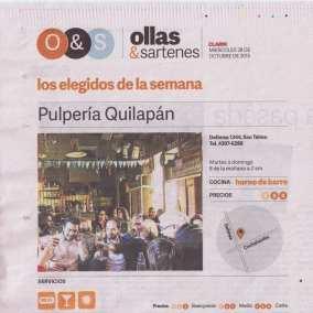 """<span class=""""live-editor-title live-editor-title-20320"""" data-post-id=""""20320"""" data-post-date=""""2015-10-29 11:59:40"""">Los elegidos de la semana: pulpería Quilapán por el Clarín</span>"""