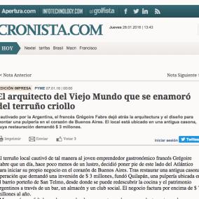 """<span class=""""live-editor-title live-editor-title-21439"""" data-post-id=""""21439"""" data-post-date=""""2016-01-07 14:01:52"""">El arquitecto del Viejo Mundo que se enamoró del terruño criollo por Cronista</span>"""
