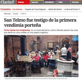 "<span class=""live-editor-title live-editor-title-22716"" data-post-id=""22716"" data-post-date=""2016-04-12 18:34:06"">San Telmo fue testigo de la primera vendimia porteña por el Clarín</span>"