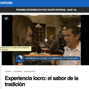 """<span class=""""live-editor-title live-editor-title-23205"""" data-post-id=""""23205"""" data-post-date=""""2016-05-25 18:04:00"""">La experiencia del locro por Telefe</span>"""