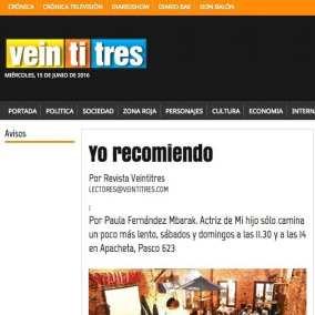 "<span class=""live-editor-title live-editor-title-23390"" data-post-id=""23390"" data-post-date=""2016-06-12 19:28:30"">Yo recomiendo por Revista Veintitres</span>"