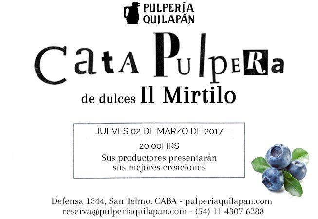 ¡GRATIS! Degustación de dulces de Il Mirtilo @ Pulperia Quilapan | Ciudad Autónoma de Buenos Aires | Argentina