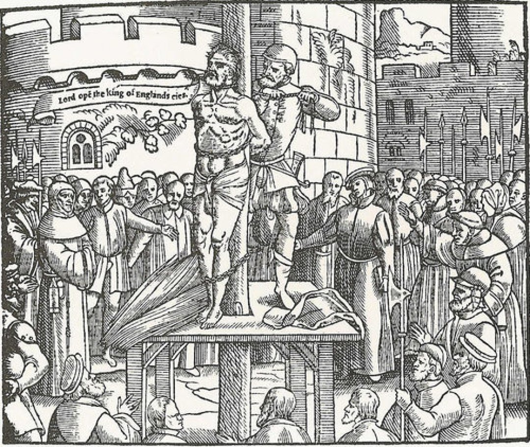 Martyrdom of William Tyndale, Guilty of Translating Scripture into the English Language
