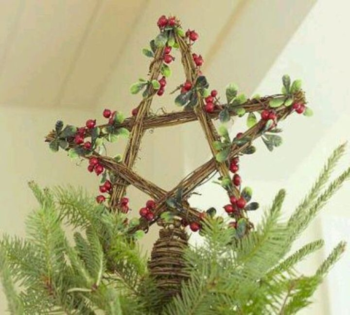 Pagan Christmas Tree.Merry Pagan Christmas