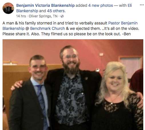 Weakley politely came forward, asked for prayer, let them pray, was given a  mic and said one sentence – this man has not been living up to what a pastor  ...