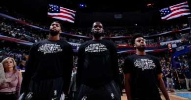NBA and Player Union Agree to 29 Social Justice Messages on Jerseys. No Christian Messages Allowed