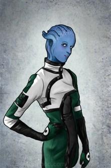 Sci Fi portrait by Kris