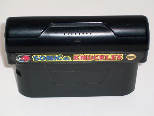 GENESIS-GAME-Sonic & Knuckles