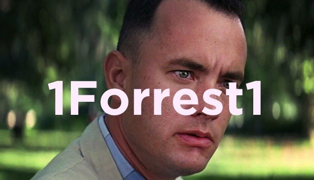 What's Forrest Gump's password?