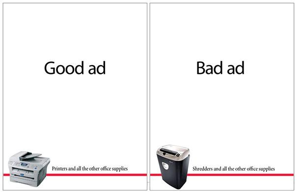 Office Depot: Good Ad vs. Bad Ad