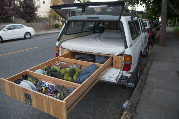 Truck Bed Camper >> This Guy Built The Most Epic Camping Truck Ever You Have To See This