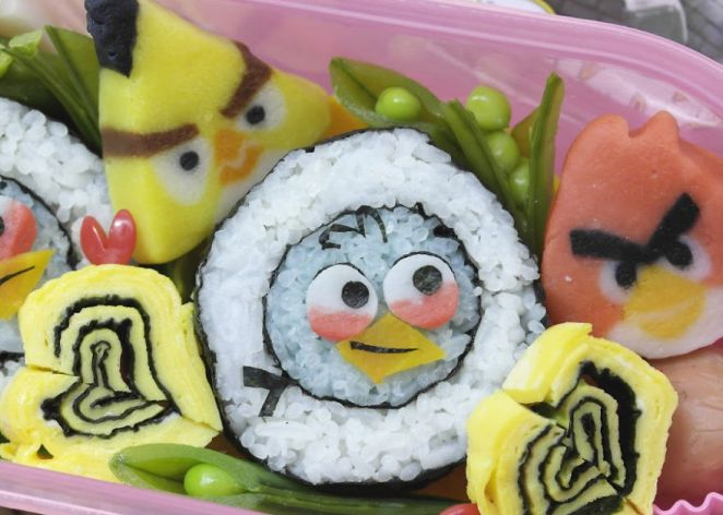 Angry Birds Sushi