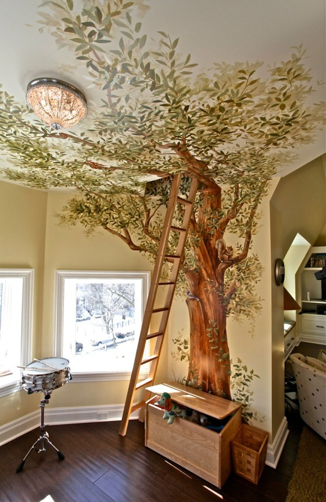 dream house interior.  Tree house attic probably an overprotective parent s idea 43 Jaw Dropping Interior Design Ideas To Take You One Step Closer