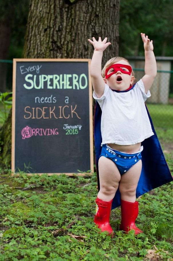 35 Of The Most Creative Baby Announcements Ever – Creative Baby Announcement Photos