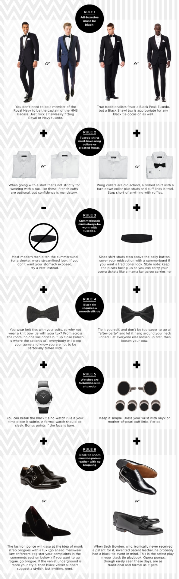 25 Style Charts Every Man Needs To See How Diagram Of Tie Shoes Learn Wear A Tux Without Looking Like Penguin