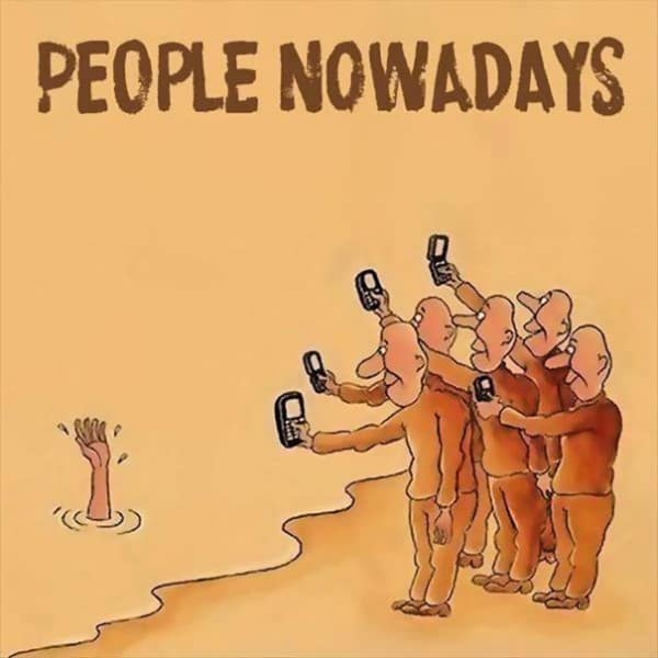 These 40 Cartoons Perfectly Illustrate How Smartphones Have Taken Over Our Lives 6