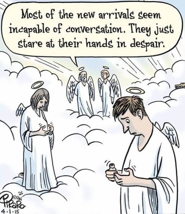 These 40 Cartoons Perfectly Illustrate How Smartphones Have Taken Over Our Lives 7