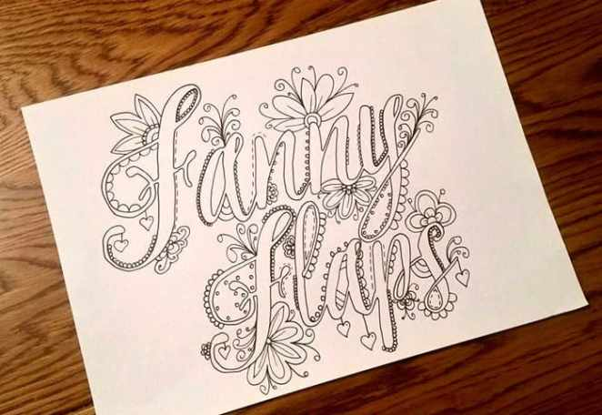 This Naughty Coloring Book Will Help You Curse Less And Create More