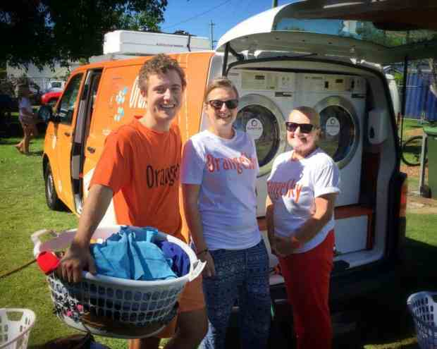 These Two Australians Run A Mobile Laundry Washing Homeless People's Clothes