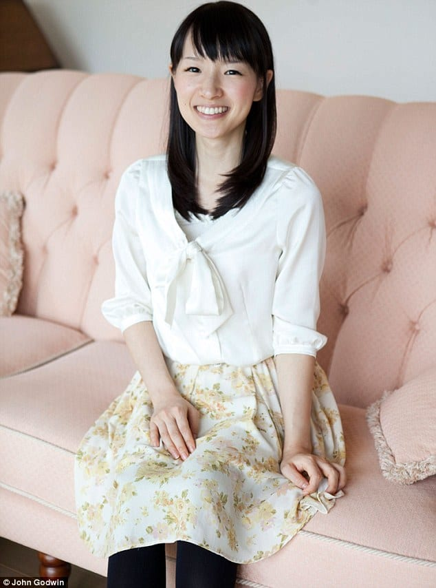 a4ebae8bc Japan s Decluttering Guru Shows How To Fold Your Clothes The Right Way
