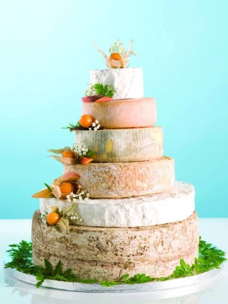 Or This Other Cheese Tower With Softer Color Tones
