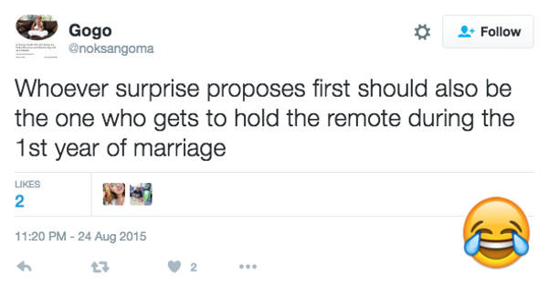 23 Really Funny Tweets About The First Year Of Marriage