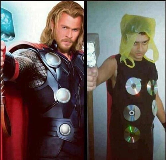 sc 1 st  Pulptastic & 15 Hilariously Bad Halloween Costumes By People Who Didnu0027t Even Try