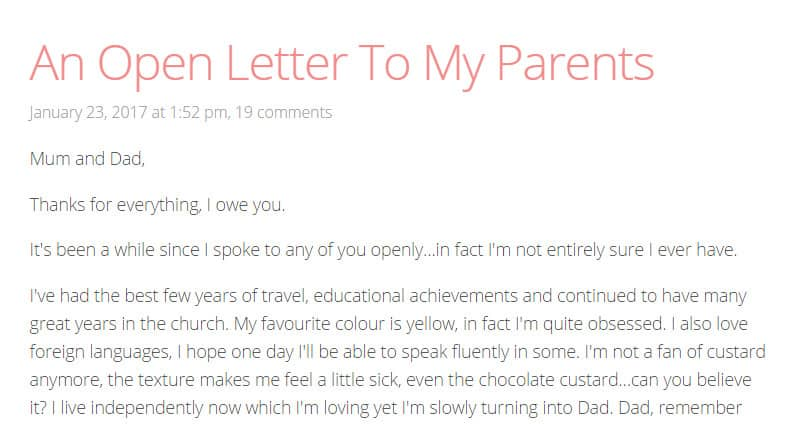 "This Teen Girl Wrote A Heartbreaking ""Thank You"" Letter To Her ..."