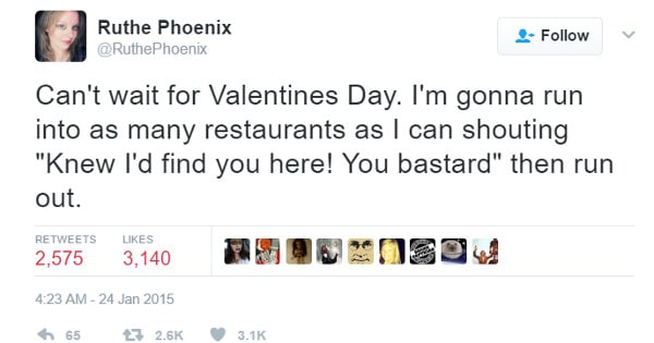 17 Hilarious Valentineu0027s Day Tweets Thatu0027ll Make All Single People Say U201cMeu201d