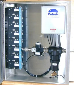 eight valve pulsair enclosure