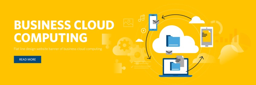 Image of Cloud Computing ICons