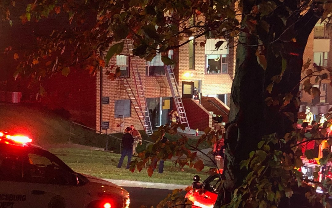 Fire in Mellinger Apartments