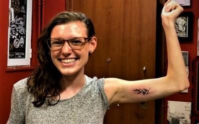 Tattoo Tuesdays: Victoria Sparrow