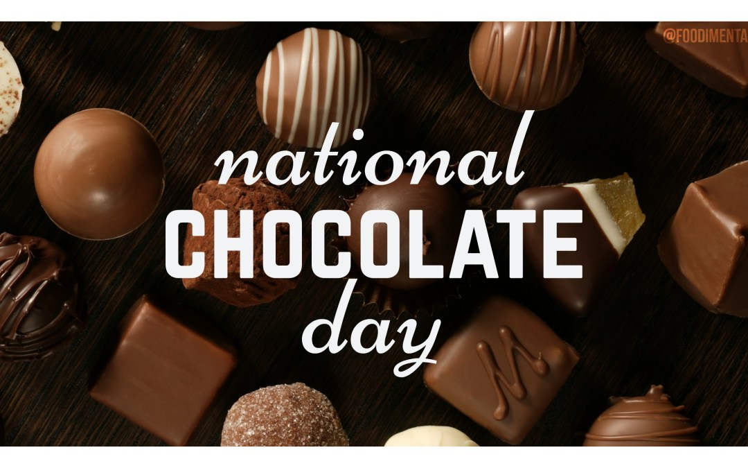 Odd October Holidays: National Chocolate Day