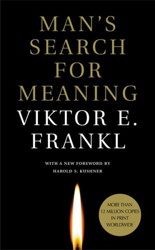 "Omot knjige ""Čovekova potraga za smislom"""